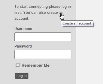 Registrering af bruger