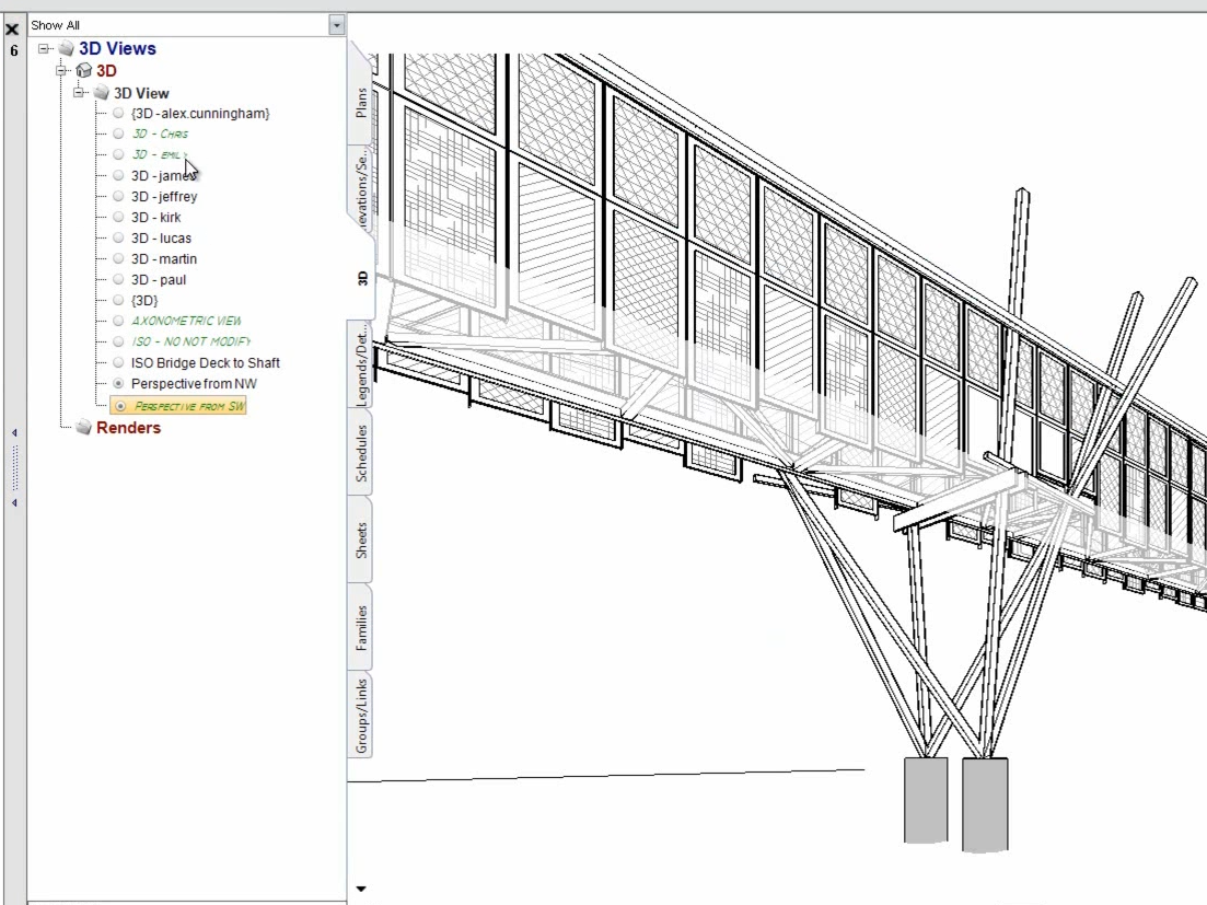 Revit Project Browser