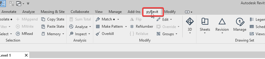 Tips #119 – pyRevit (Plugin)